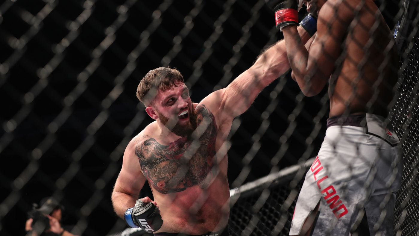 Knockout! Watch John Phillips steamroll Alen Amedovski in 17 seconds at UFC Copenhagen