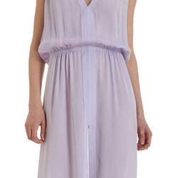 """<b>A.L.C.</b> sleeveless gathered waist dress, <a href=""""http://www.barneys.com/A.L.C.-Sleeveless-Gathered-Waist-Dress/501861113,default,pd.html?cgid=womens-dresses&index=56"""">$394</a>"""