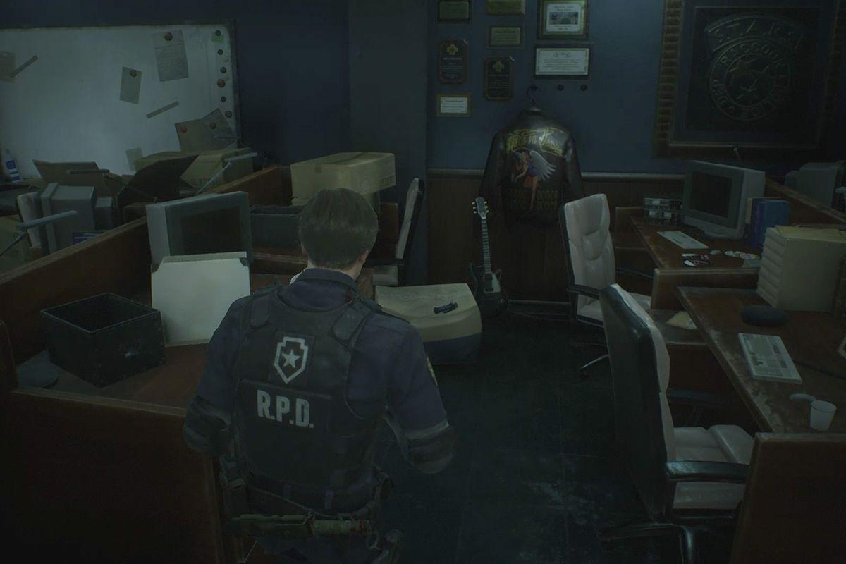 Resident Evil 2 Police Station walkthrough — Maiden Medallion