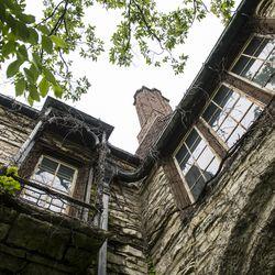 The Harley Clark mansion in Evanston. | Tyler LaRiviere/Sun-Times