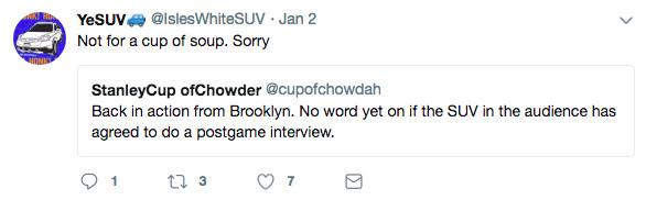 IT'S NOT SOUP. IT'S CHOWDAH.