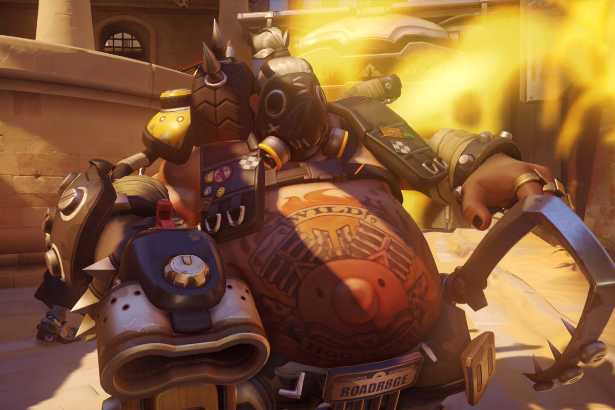 Roadhog's getting some changes to his durability.