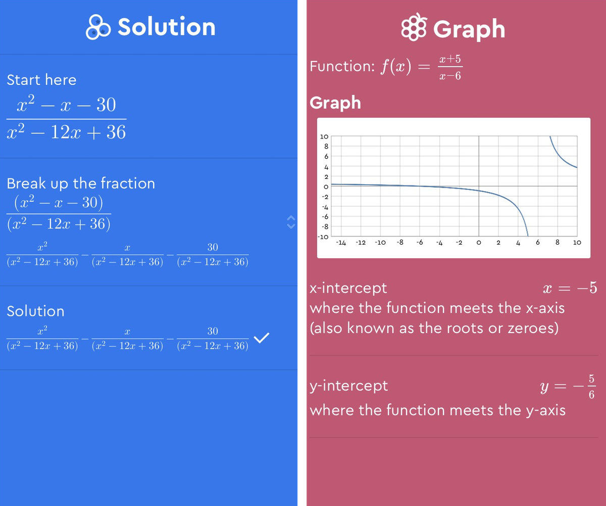 This app doesn't just do your homework for you, it shows you how ...