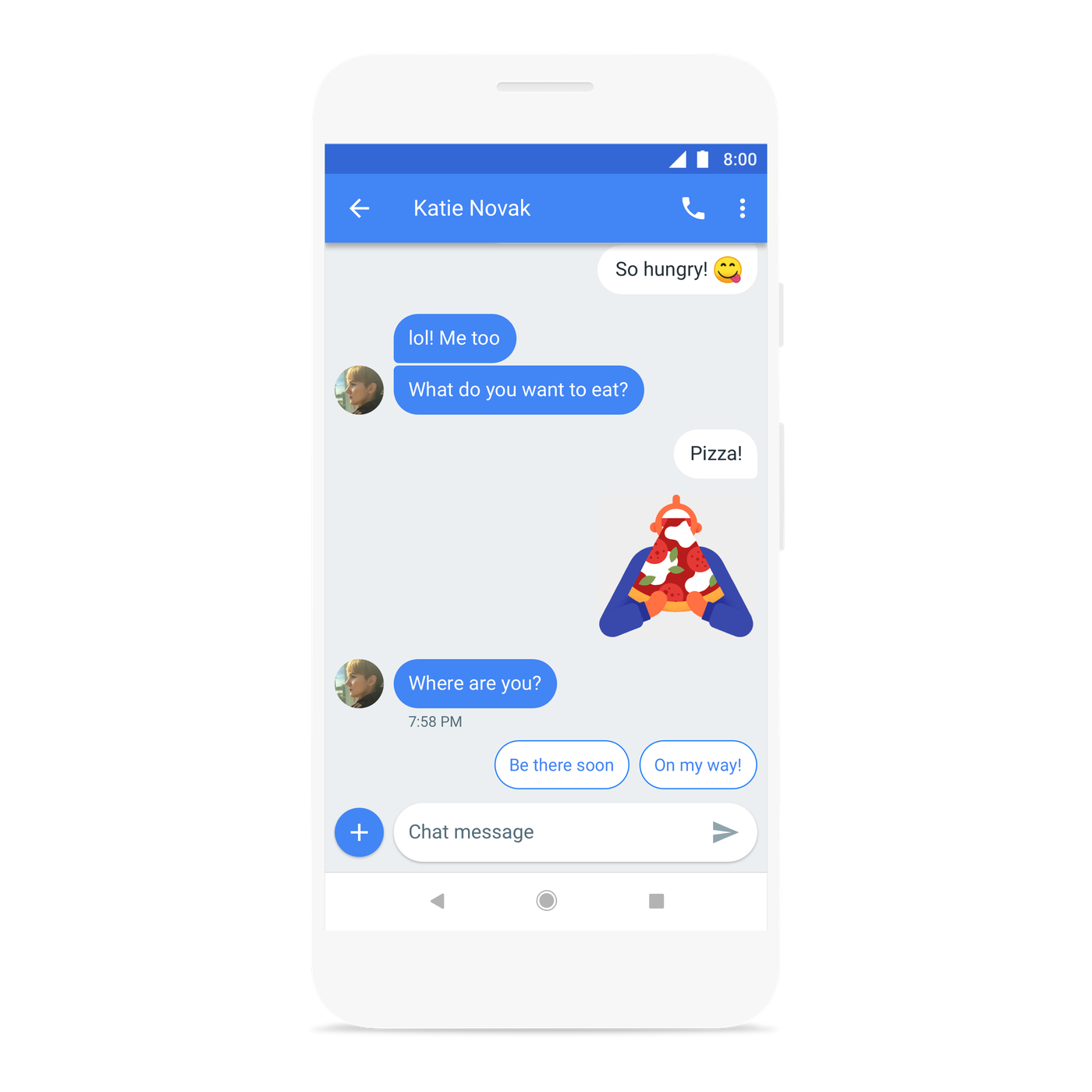 Exclusive: Chat is Google's next big fix for Android's messaging