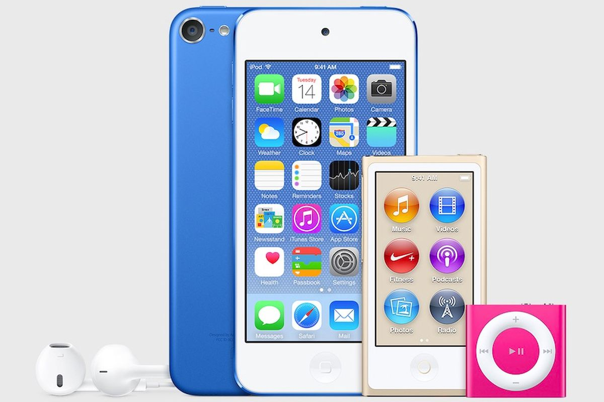 c9b0a28ab4b159 Apple refreshes iPod lineup with new colors and major upgrades to iPod touch