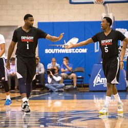 Drummond high-fives KCP