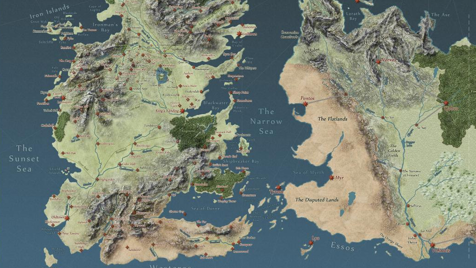 interactive game of thrones map will make you an expert on westeros polygon. interactive game of thrones map will make you an expert on