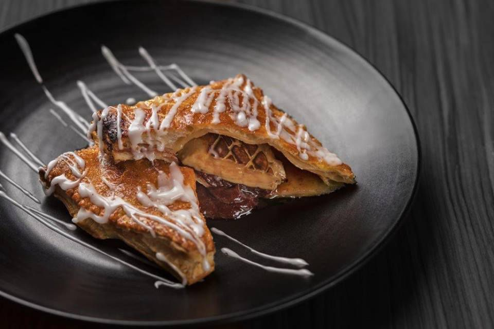 Foie gras pop tarts
