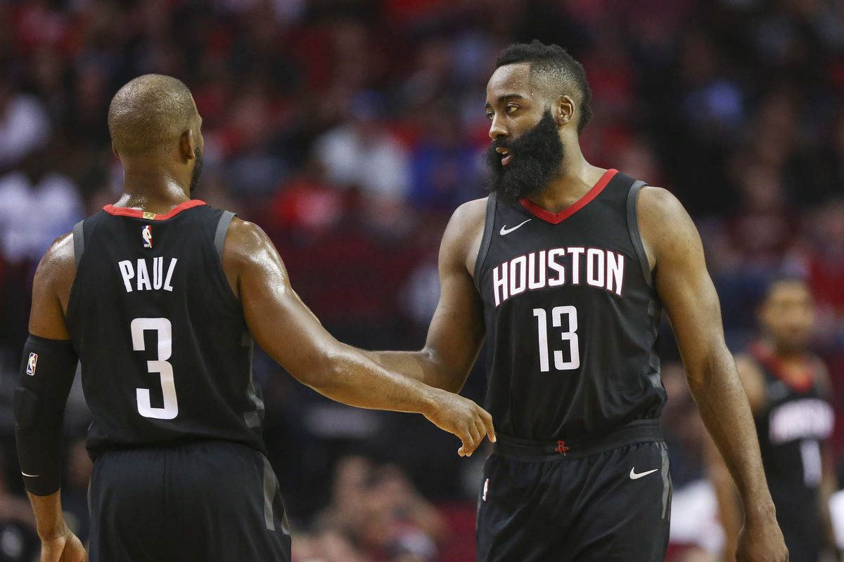94152527b518 Rockets vs. Pelicans  James Harden and Chris Paul are the perfect ...