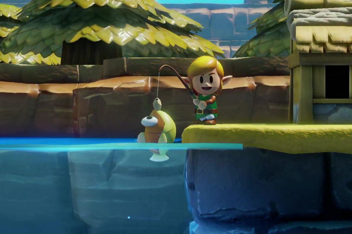 The Legend Of Zelda Link S Awakening Gets Release Date