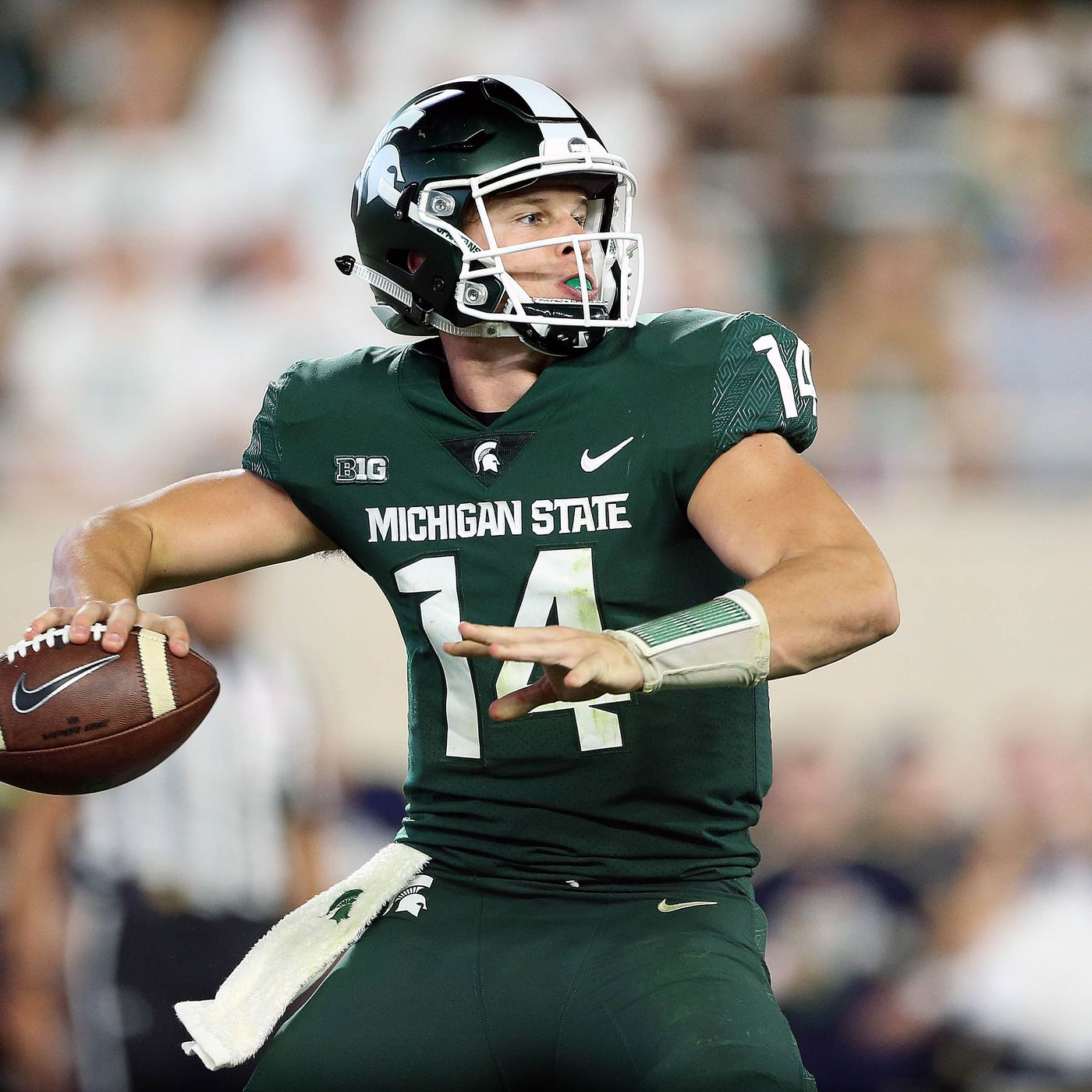 Michigan State Has A Brian Lewerke Problem The Only Colors