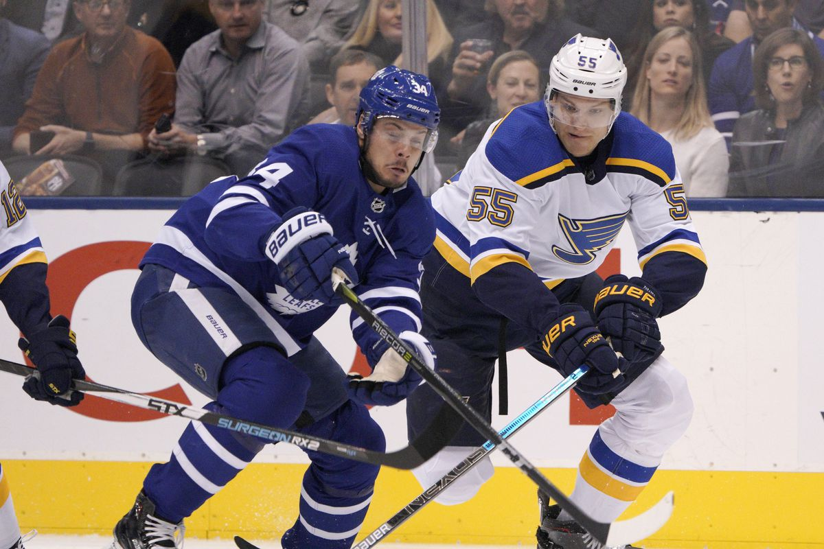 NHL: OCT 20 Blues at Maple Leafs