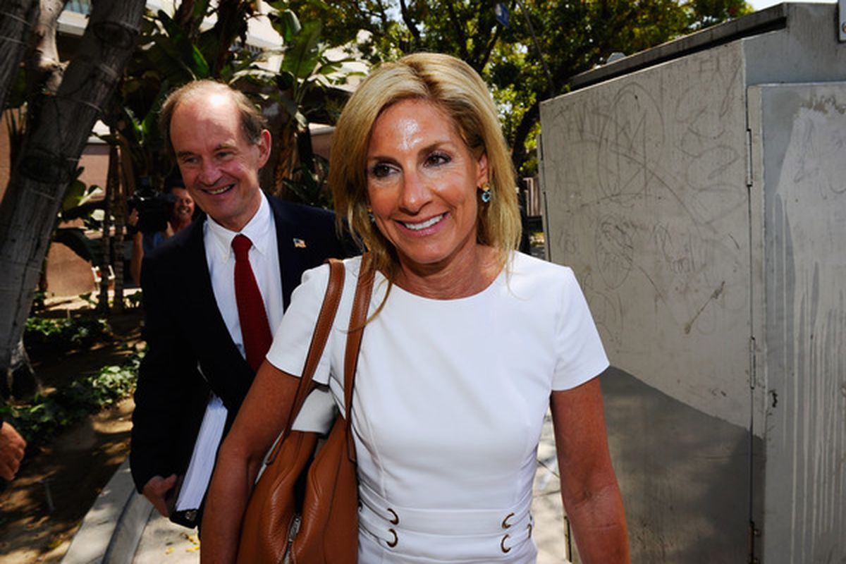 The judge in the divorce trial of Frank and Jamie McCourt has ruled in favor of Jamie, invalidating the marital property agreement, which could affect the future of Dodgers ownership.