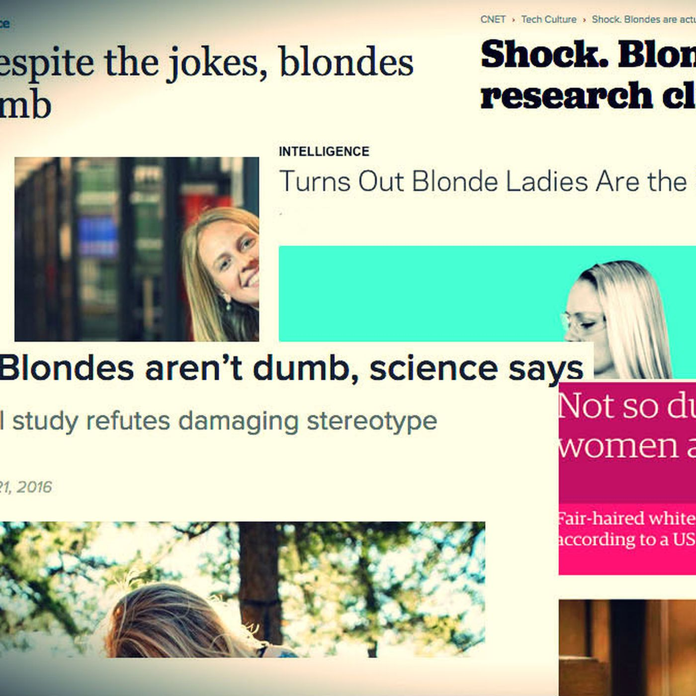 The Dumb Blonde Stereotype Is A Myth And So Is This Scientific