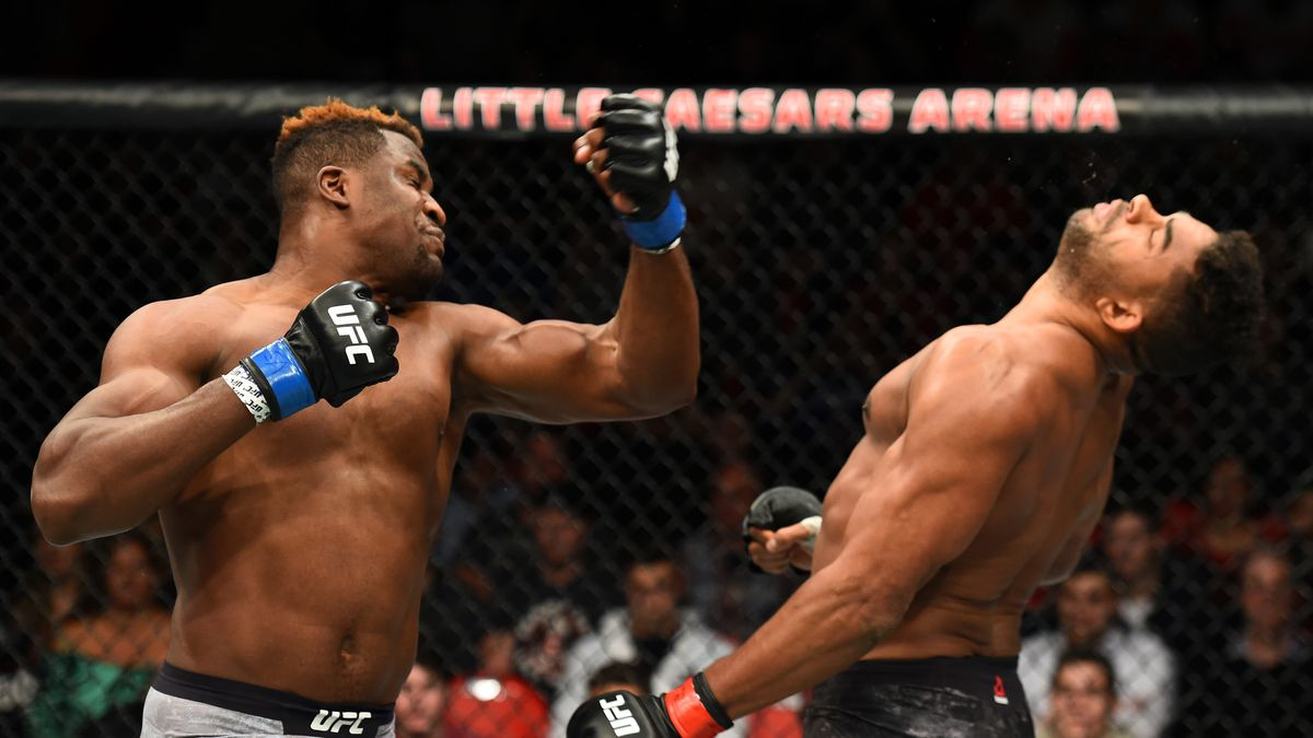 2017 Knockout Of The Year Francis Ngannou Crushes Alistair