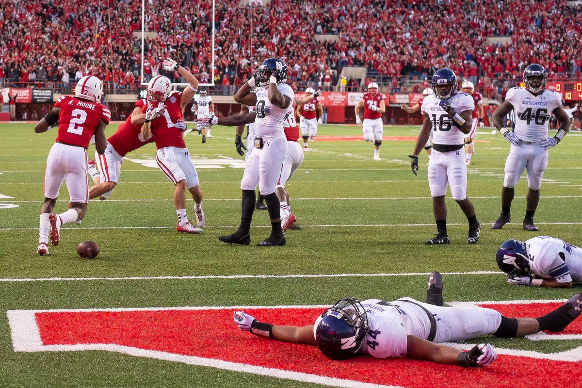 This pretty much sums up Northwestern's season so far