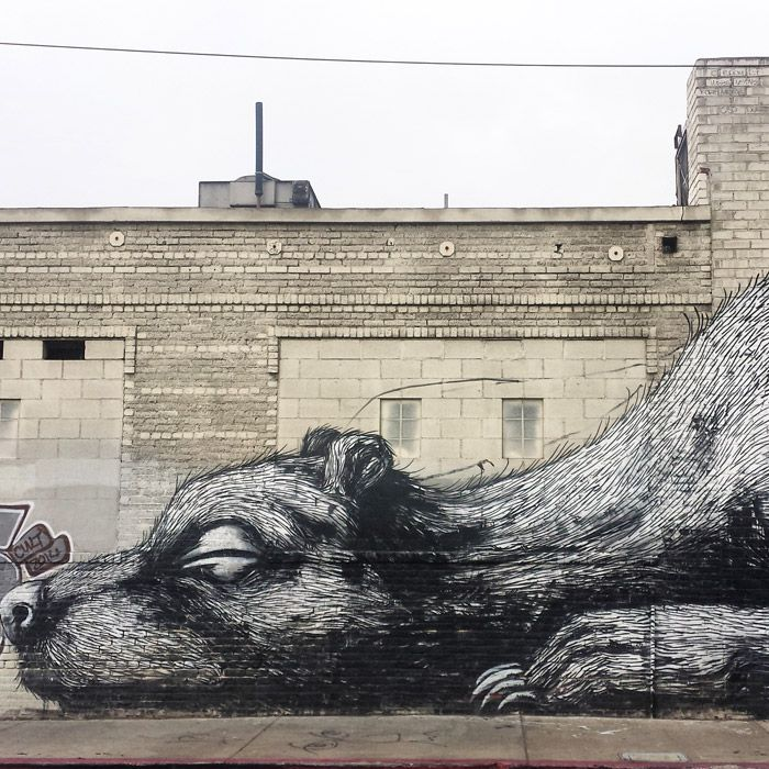 Black White And Red Wall Art la's most instagrammable walls and street art - racked la
