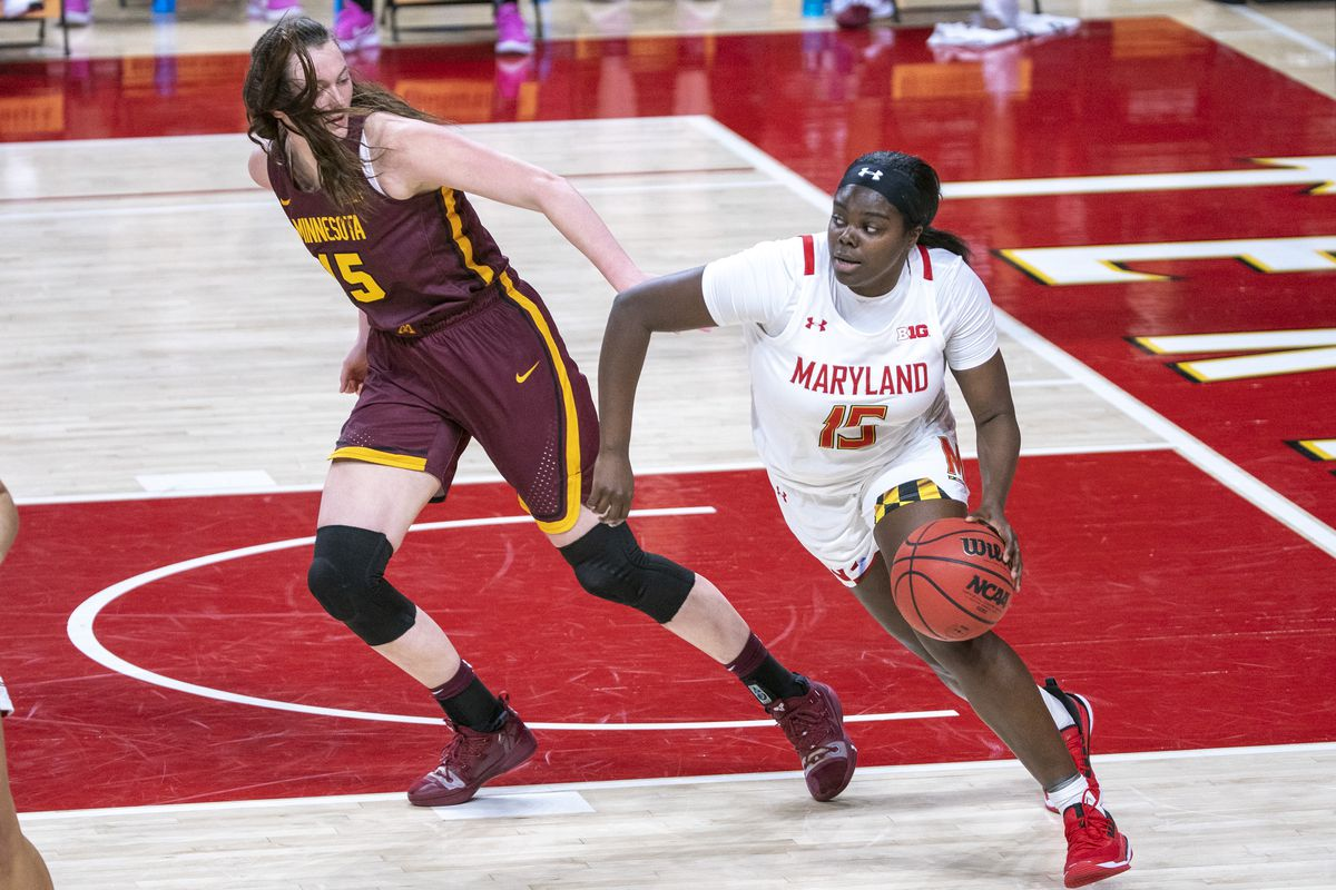 COLLEGE BASKETBALL: FEB 20 Womens - Minnesota at Maryland
