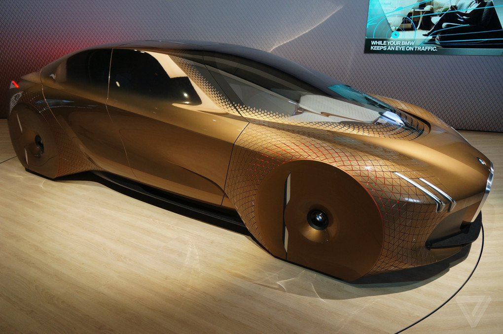 The Bmw Rolls Royce And Mini Vision Next 100 Concept Cars Will Be On Show At London S Roundhouse From This Saay Through To End Of Week
