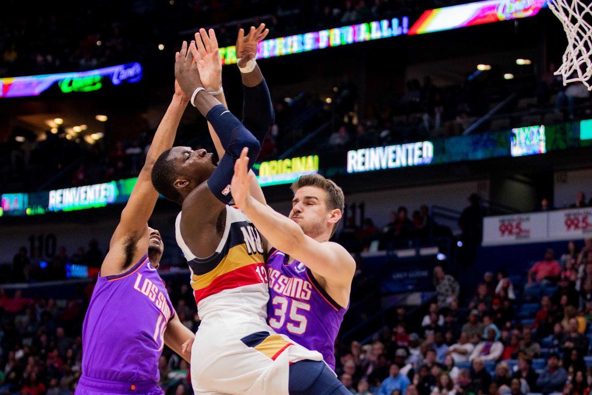 NBA: Phoenix Suns at New Orleans Pelicans