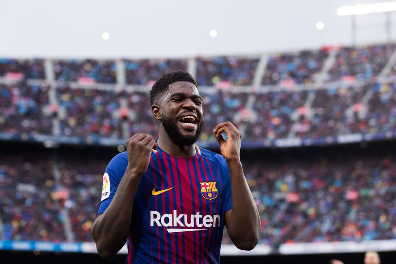 Umtiti talks future, Man Utd interest and Griezmann to Barca