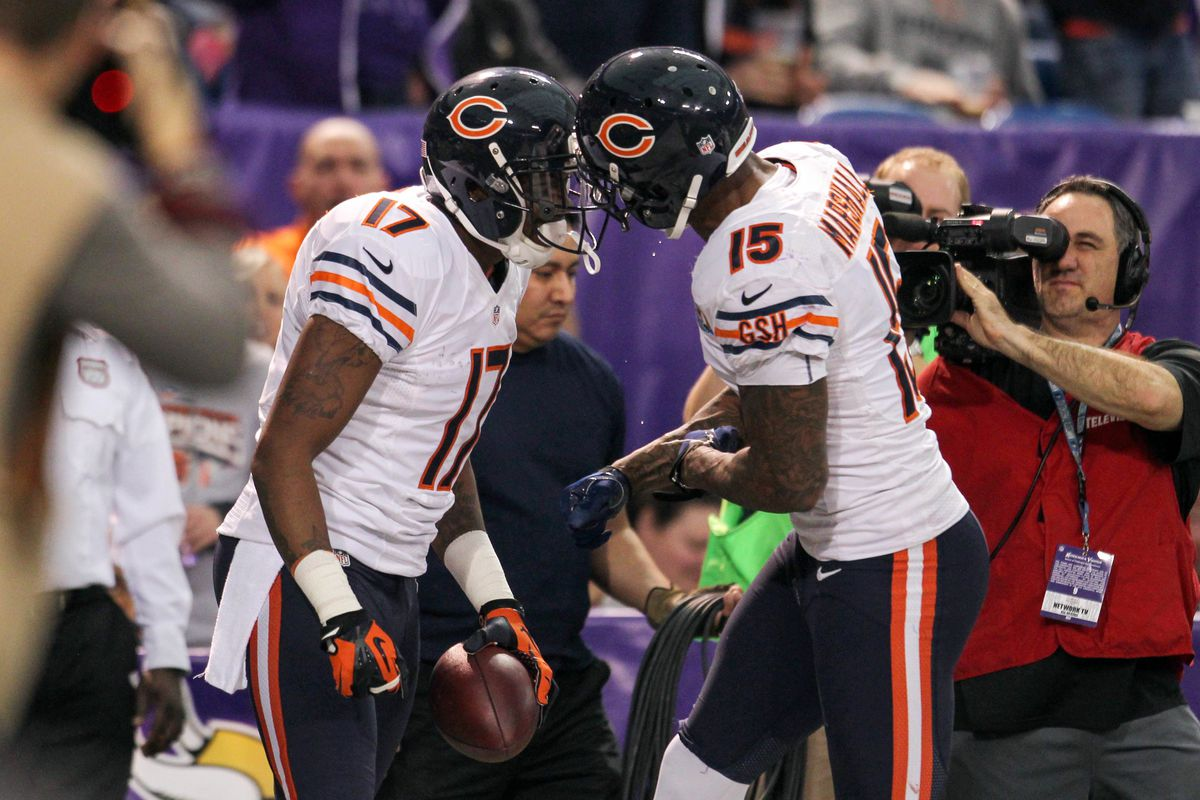 buy online a086a f7d3b Chicago Week 10 Teammates of the Week: Brandon Marshall and ...