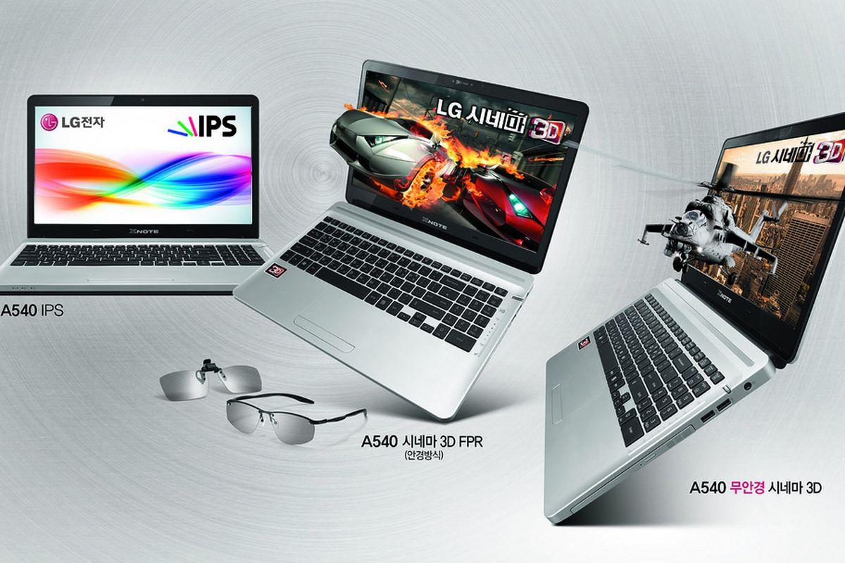 LG Xnote A540