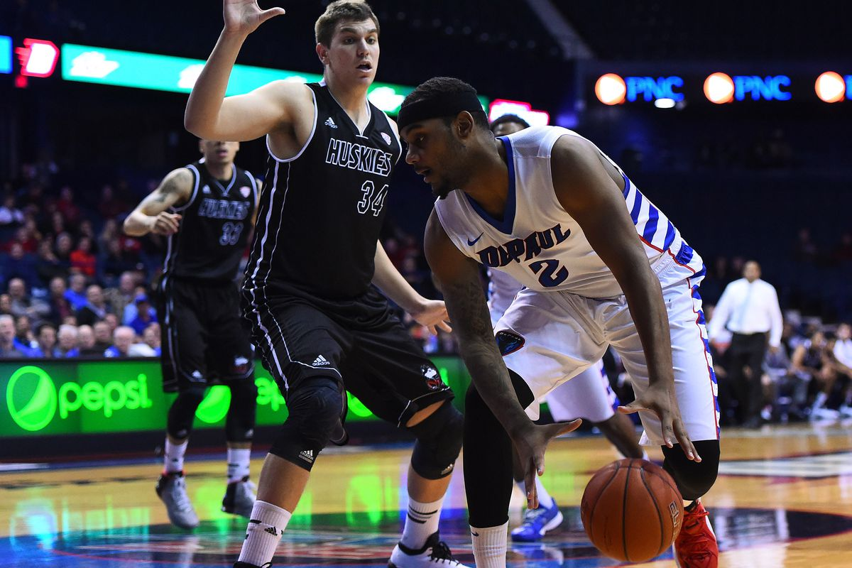 NCAA Basketball: Northern Illinois at DePaul