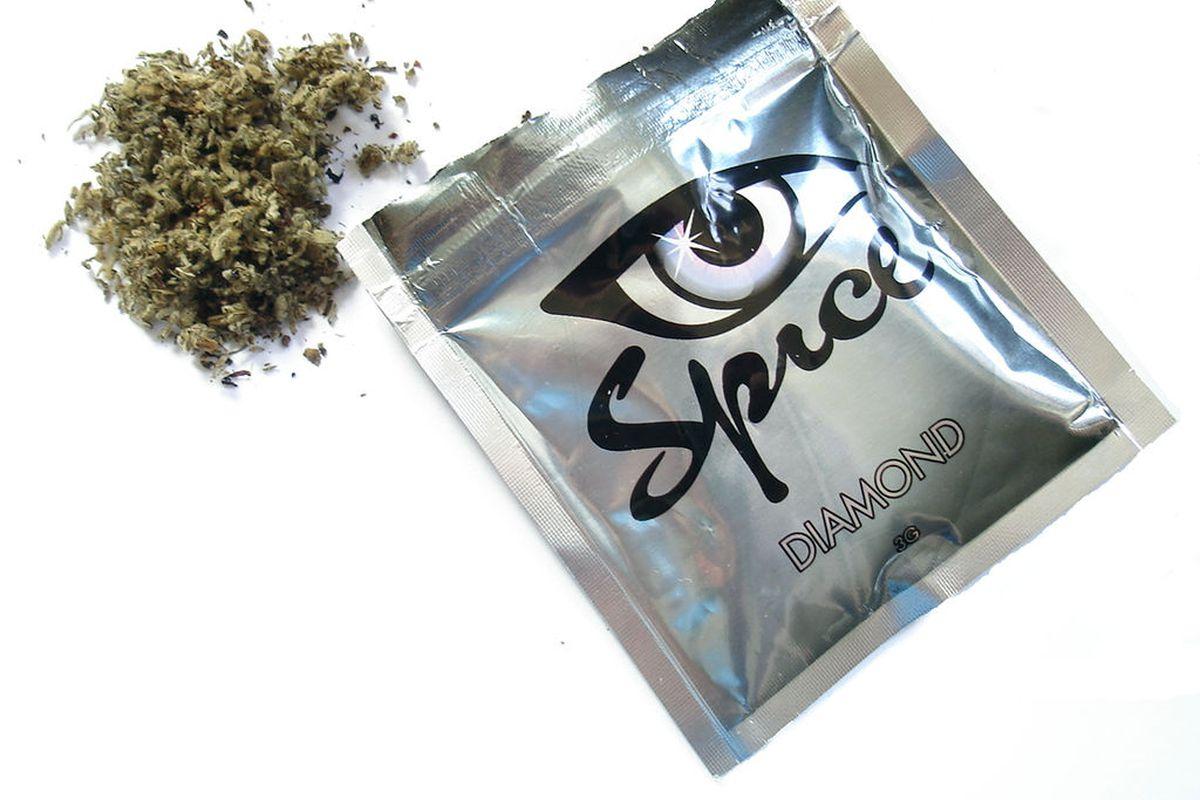 Spice, a type of synthetic marijuana.