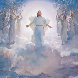 Christ at Second Coming by Harry Anderson.