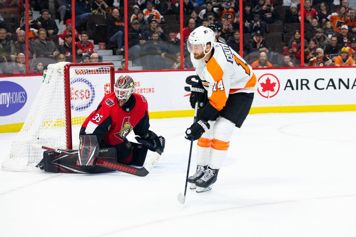 NHL: DEC 21 Flyers at Senators