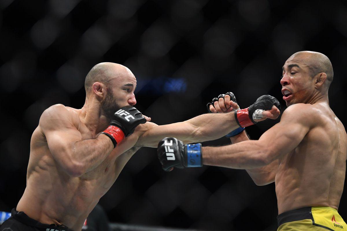 MMA: UFC 245-Moraes vs Aldo