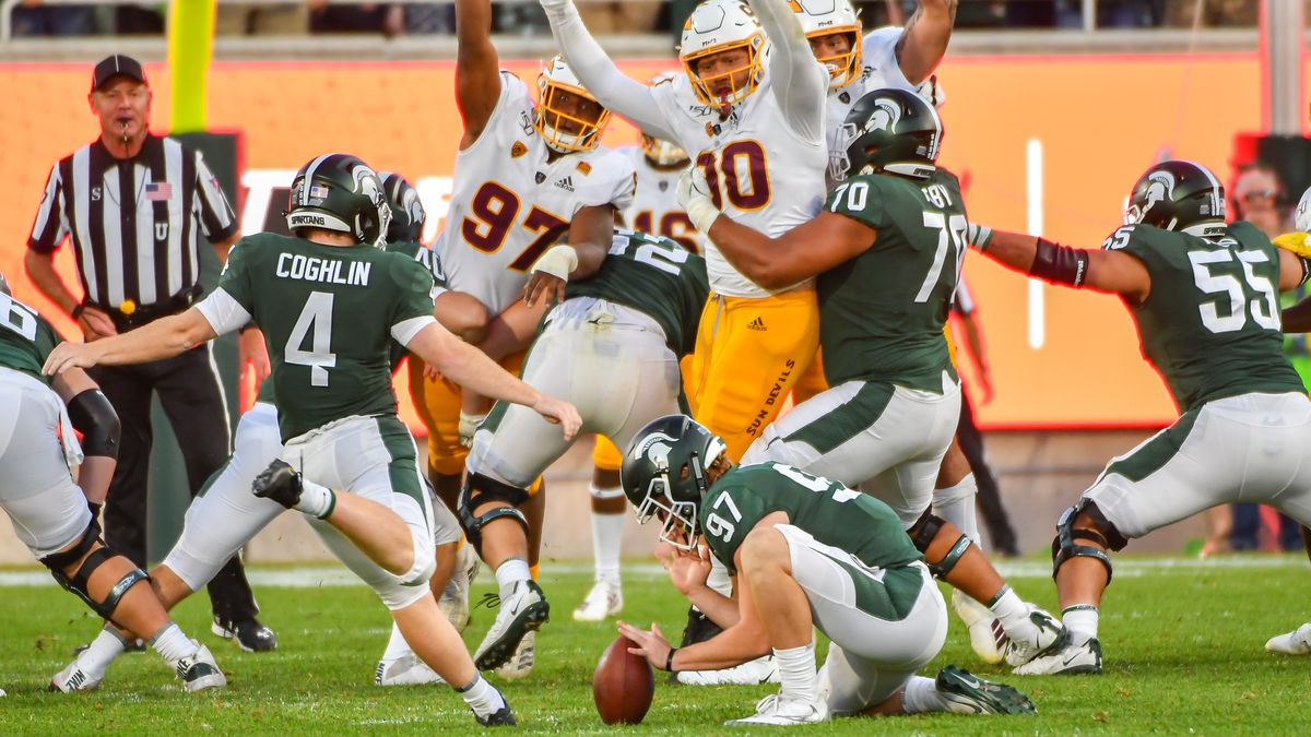 COLLEGE FOOTBALL: SEP 14 Arizona State at Michigan State