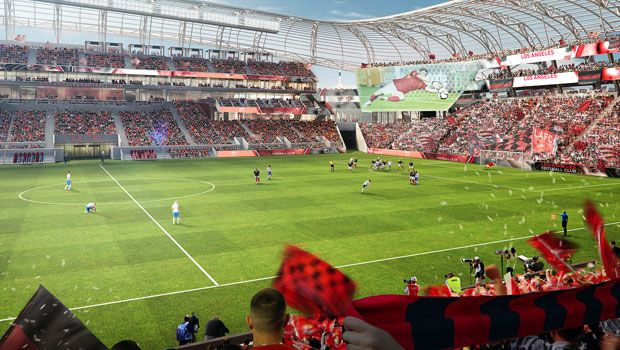 LAFC new game view rendering