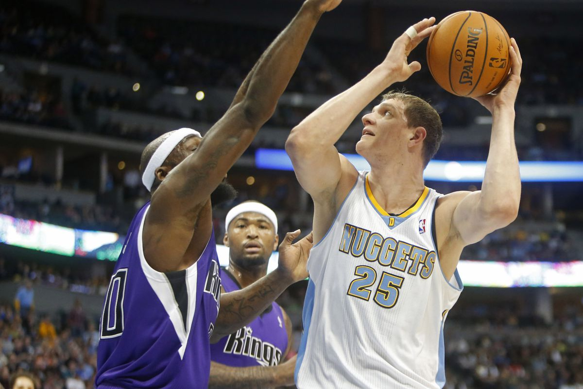 Timofey Mozgov get's the start for the Nuggets