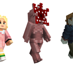stranger things 2 skin pack for minecraft is the only way