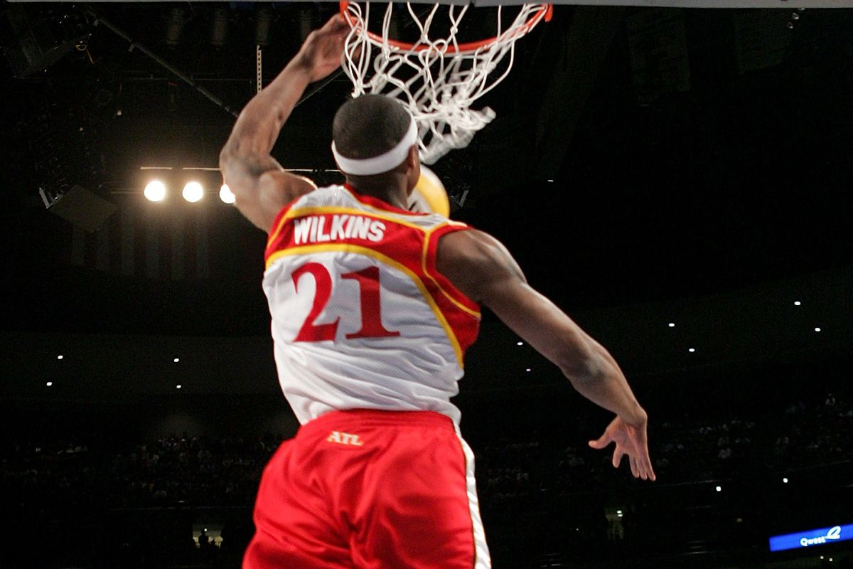 Smith and his high-flying jams was one of four Hawks dunk contest wins.