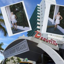 """""""Our Art Basel trip began after a long red-eye flight, followed by checking-in to the ultra hip Deauville Hotel. We dressed in a couple looks from our <a href=""""http://crybabypresents.com/our_collection/springsummer-2013/"""">CRYBABY Presents Spring/Summer 20"""