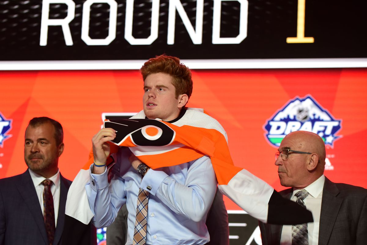 Ranking each 2019 Philadelphia Flyers draft pick by how cool their names are