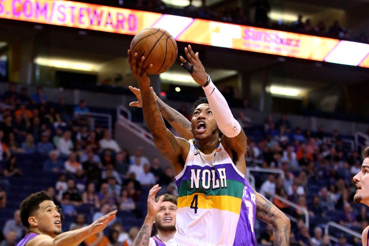 NBA: New Orleans Pelicans at Phoenix Suns