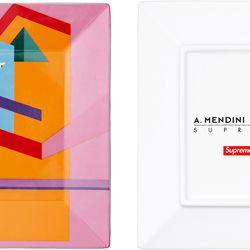 Supreme x Allessandro Mendini Ceramic Tray; Spring/Summer 2016