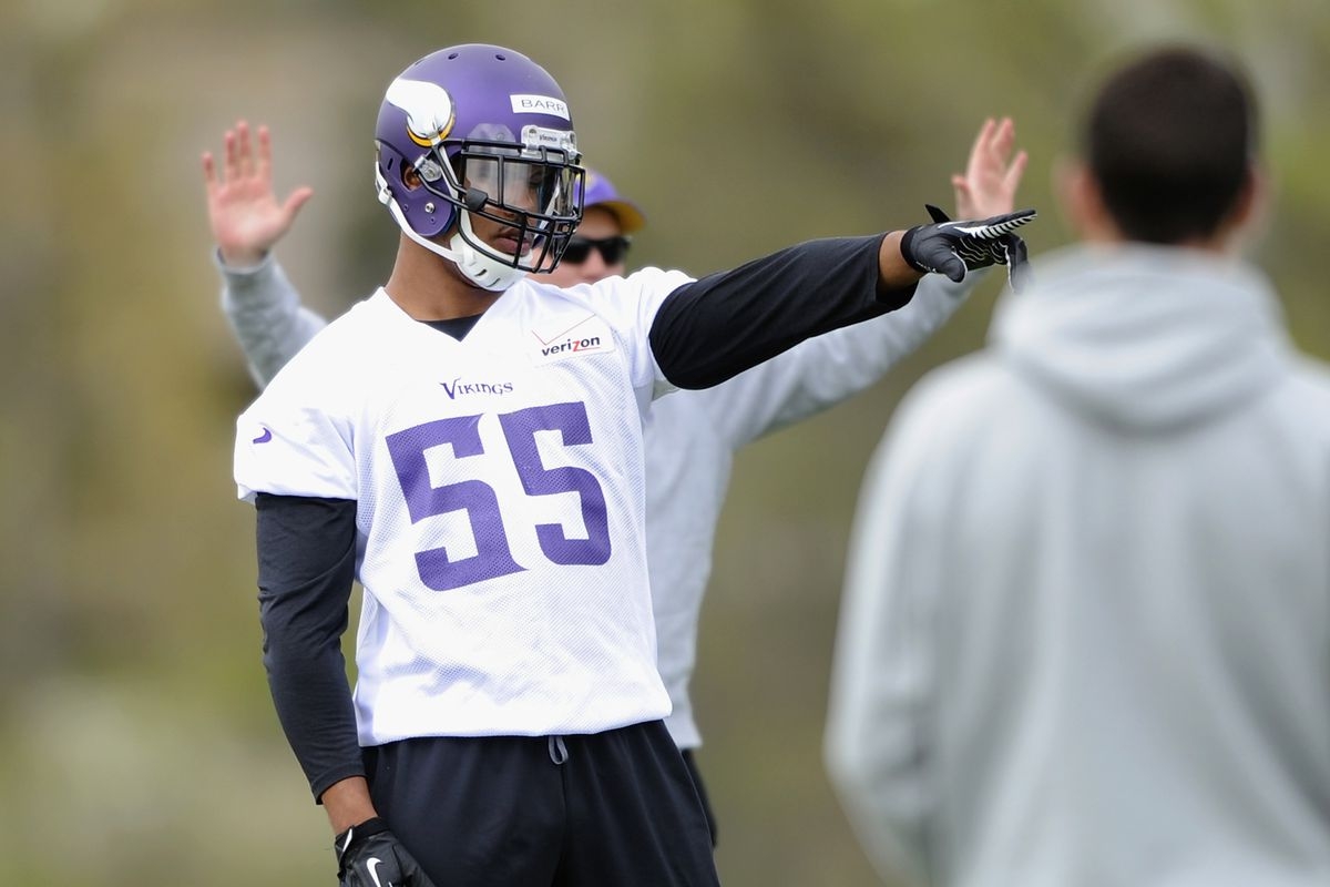 Vikings Agree To Contract Terms With Anthony Barr Daily Norseman