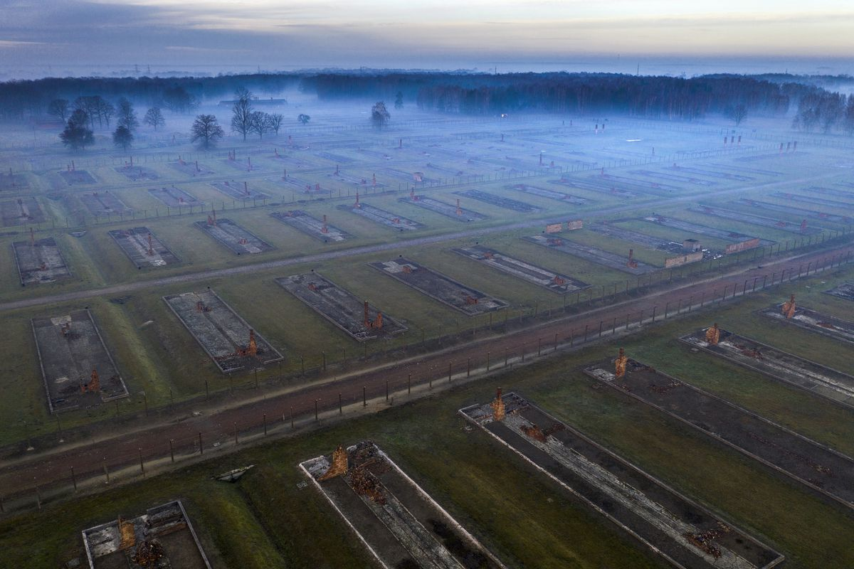 Views Of Auschwitz Ahead Of The 75th Anniversary Of Its Liberation