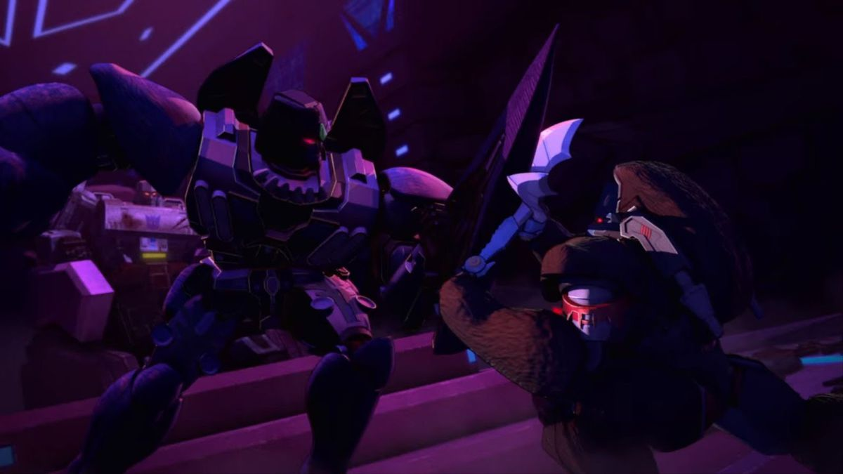 beast megatron in war for cybertron