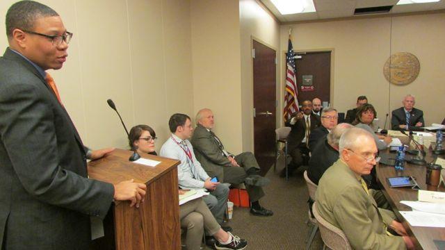 IPS Superintendent Lewis Ferebee speaks to the House Education Committee. (Scott Elliott)