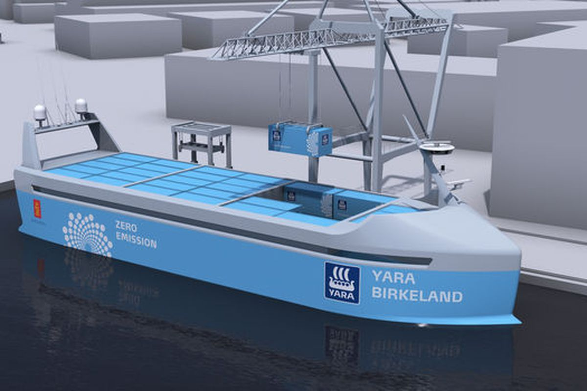 Norway Gets One Step Closer To Autonomous Cargo Ships