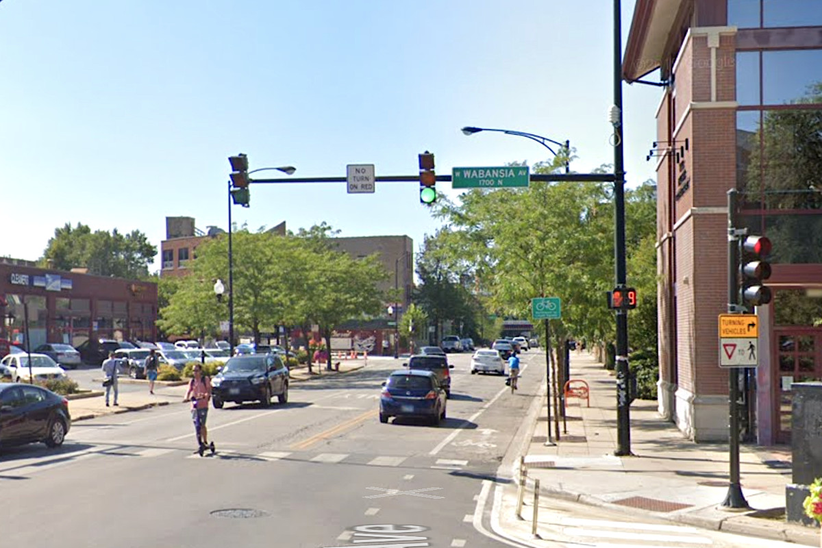 Police say a woman was robbed of her dog Oct. 7, 2020, in the 1700 block of North Milwaukee Avenue.