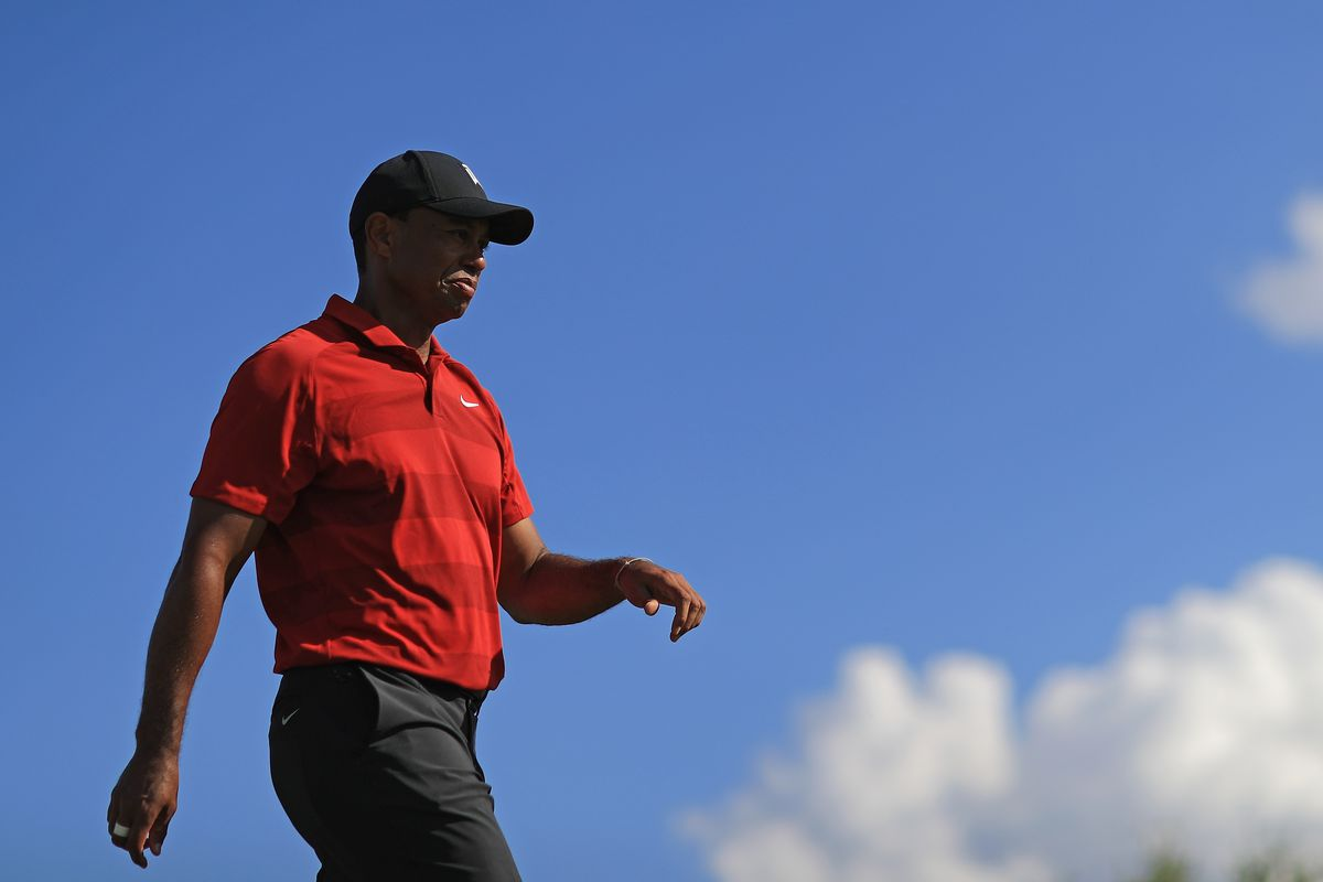 Tiger made the kind of move we haven't seen in years at the Arnold Palmer Invitational. Photo by Mike Ehrmann/Getty Images