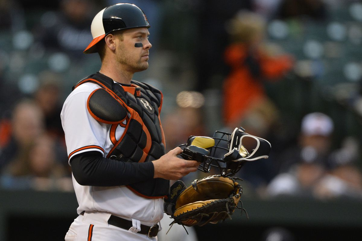 Matt Wieters ranks first in projected fWAR among 2016 FA catchers but only third among the 2017 class.