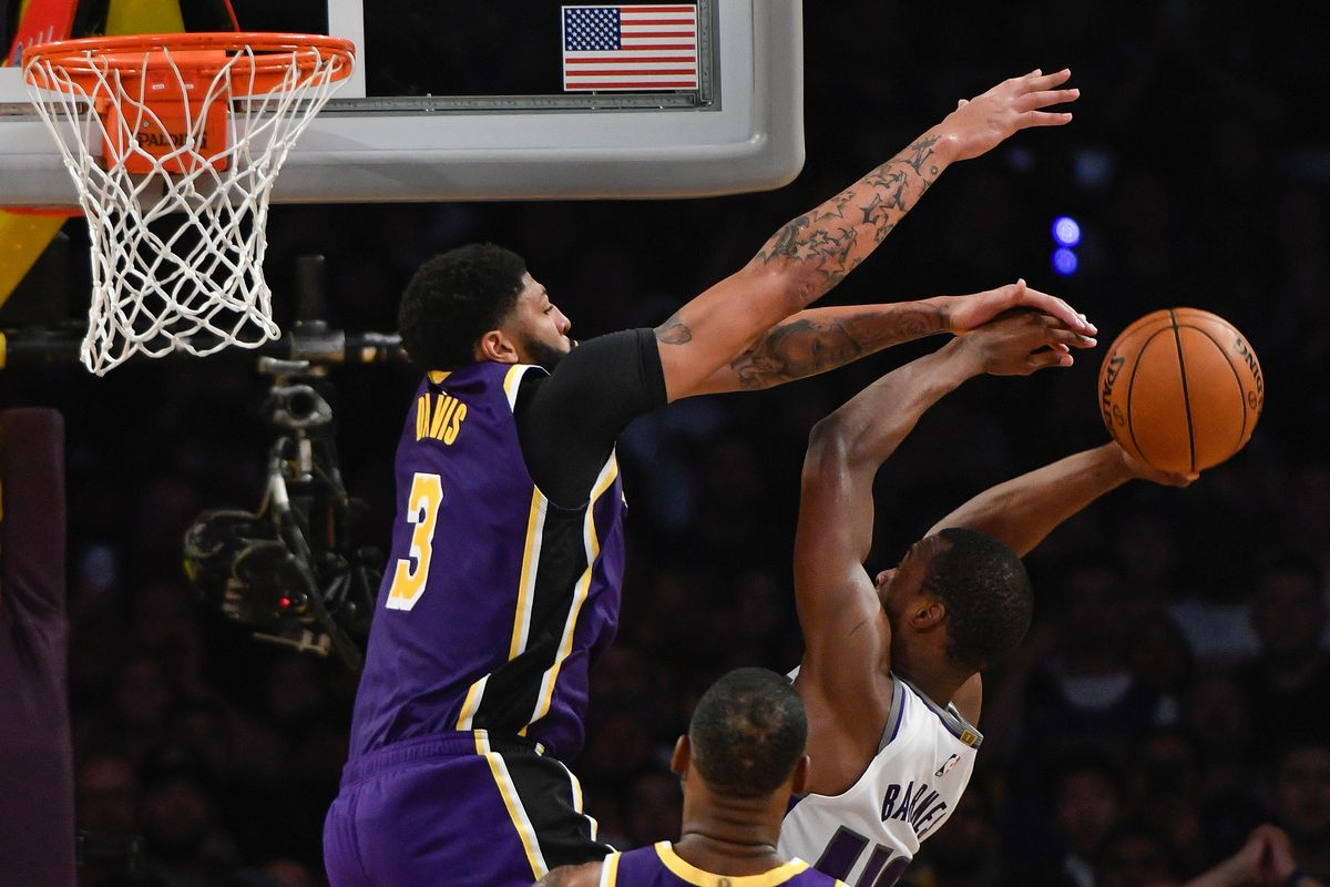 Anthony Davis Leads Nba In Blocks Is The Engine On Defense